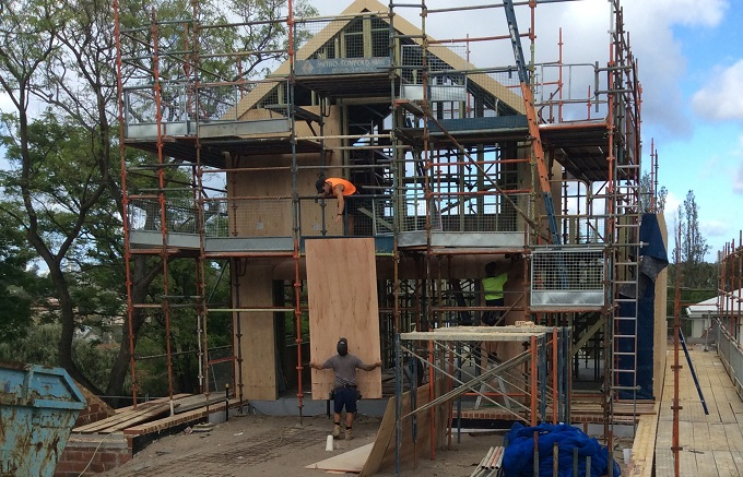 Timber Frame and Double Brick – Sustainable and Energy Efficient.